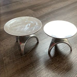 Matching Candle Holders